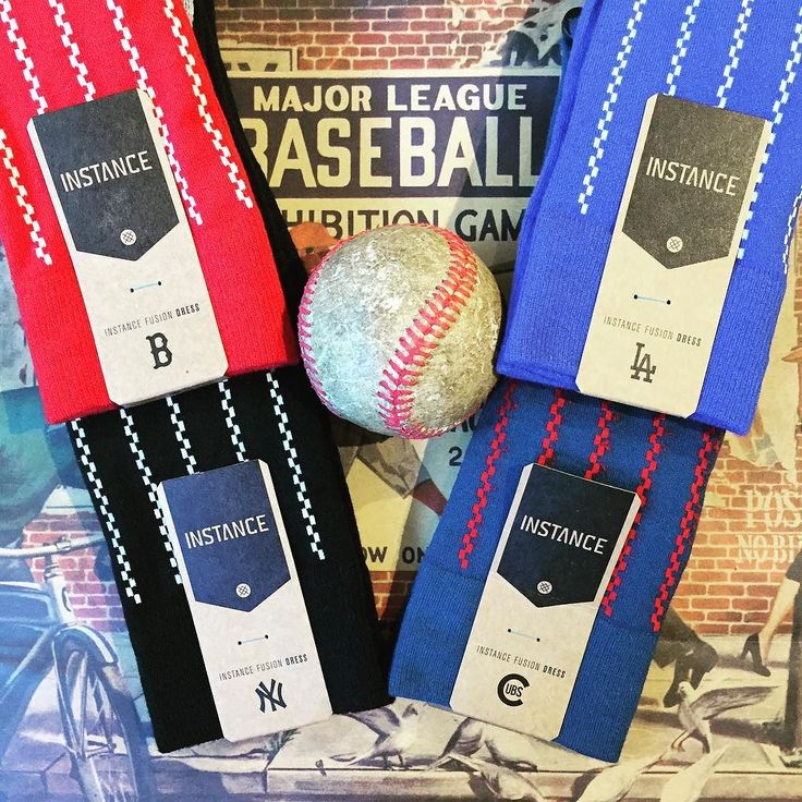 You know whats stylish? The postseason. MLB Fusion Dress Socks from @stance are here at our Vancouver store for four of the October-bound ball clubs. It all gets underway tomorrow with the @twins and @yankees. Here we go. . . #mlb #mlbpostseason #baseball #playoffbaseball #yankees #dodgers #redsox #cubs #vintageinspired #sockgame #stancebaseball #theuncommonthread #vancouver #granvilleisland #toronto #distilleryto #westvillage #newyork