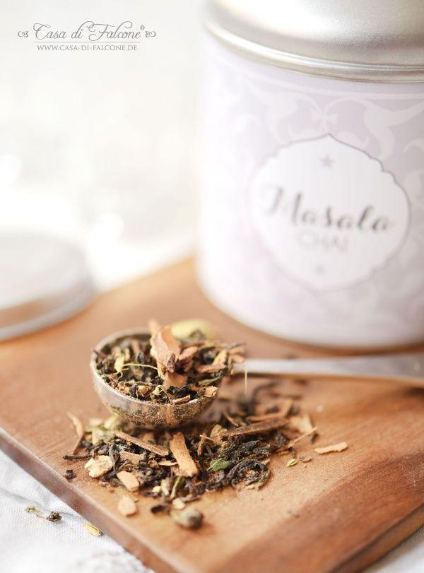 Chai Latte Teemischung {Rezept} & Verpackungsidee I chai tea I tea packaging I Casa di Falcone