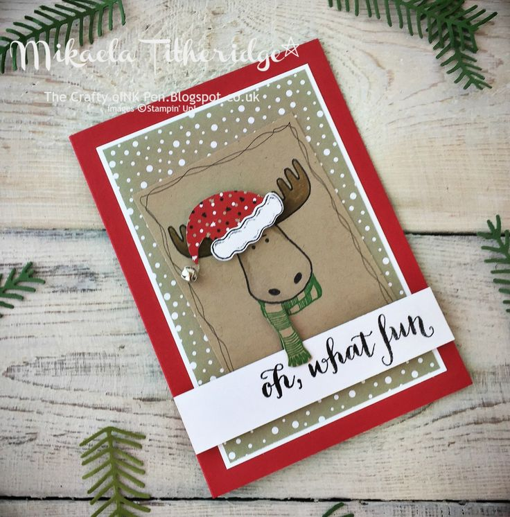 2763 best STAMPIN UP CHRISTMAS images on Pinterest | Xmas cards ...