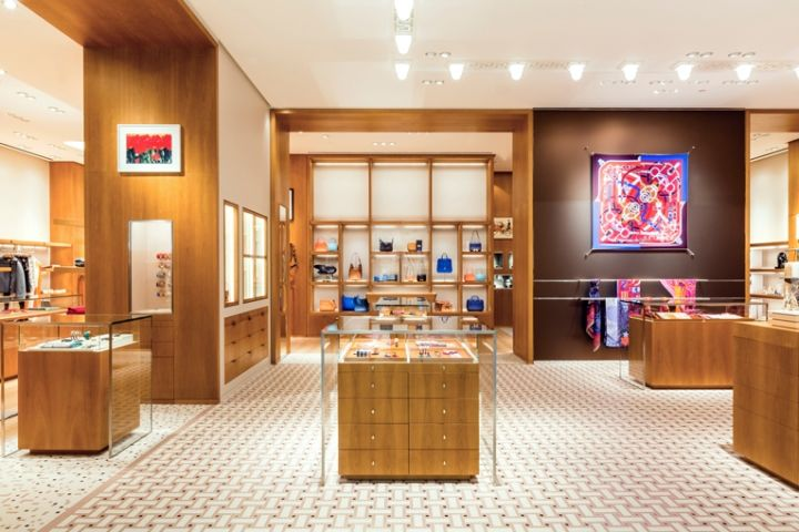Hermès shop-in-shop by RDAI Amsterdam  Netherlands