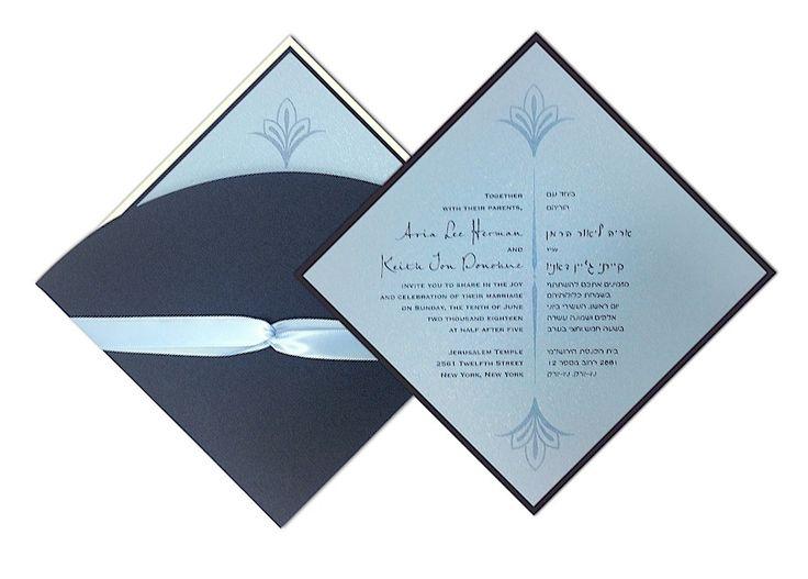 Hebrew English Wedding Invitations: 1000+ Ideas About Jewish Wedding Invitations On Pinterest