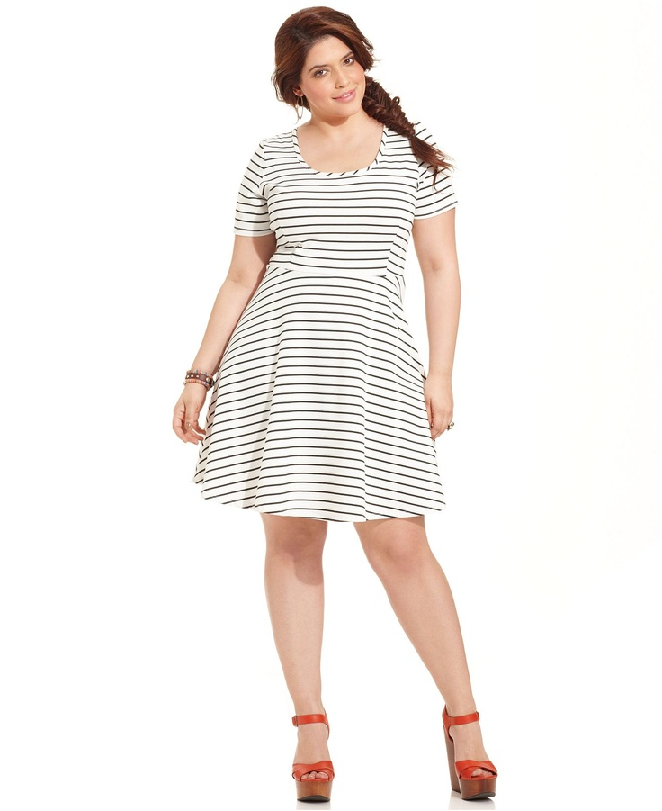 Best 20+ Nautical plus size dresses ideas on Pinterest | Women\'s ...