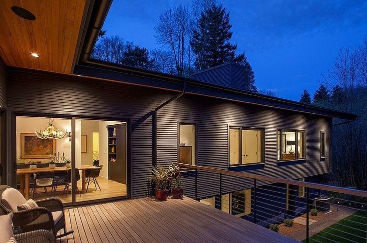 best 25 japanese modern house ideas on pinterest. Black Bedroom Furniture Sets. Home Design Ideas