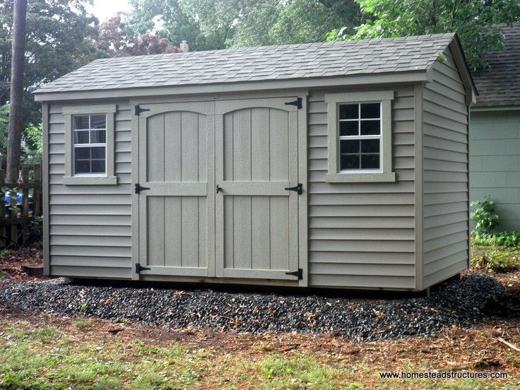8 X 14 Keystone A Frame Shed With Vinyl Siding Shed Custom Sheds Vinyl Siding