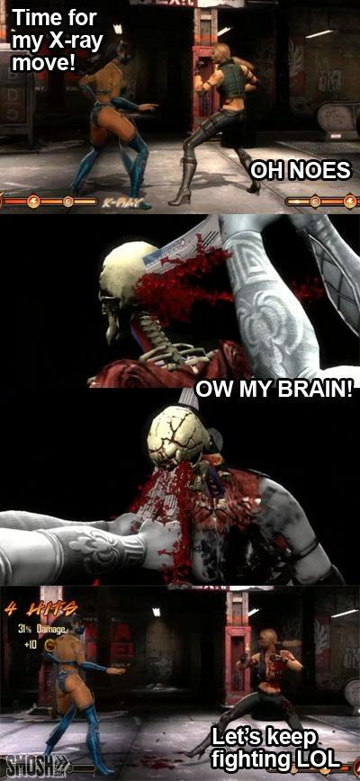 Video game logic Mortal Kombat