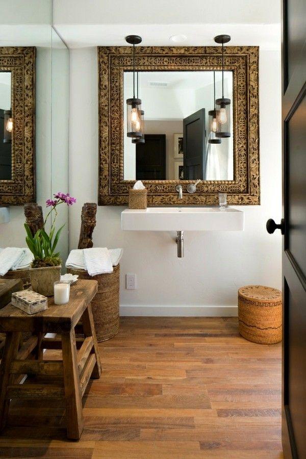 67 best Badezimmer images on Pinterest Bathroom, Half bathrooms - bad spiegel high tech produkt badezimmer