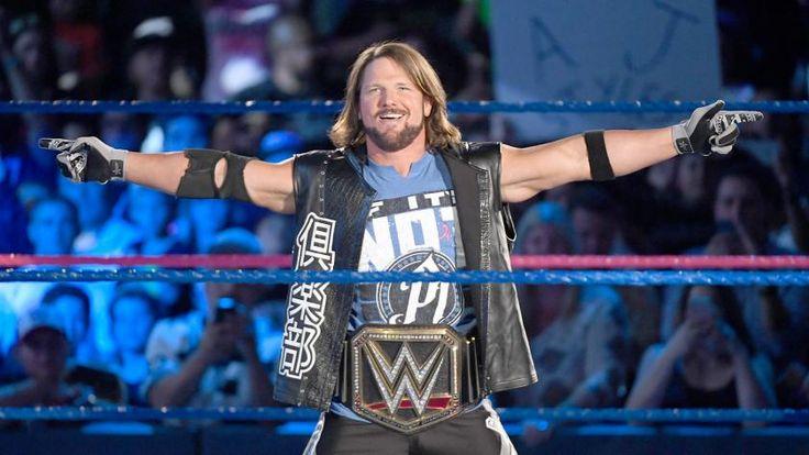 WWE World Champion AJ Styles kommt zu SmackDown LIVE.