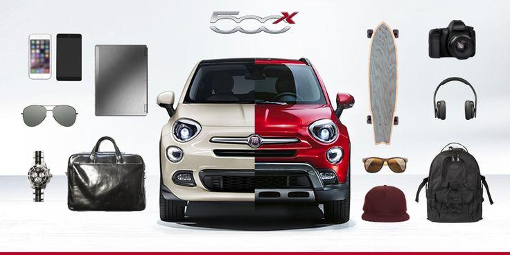 Elegancki #CityLook czy dziki #Offroad? Wybierz swój własny styl z #Fiat500X!