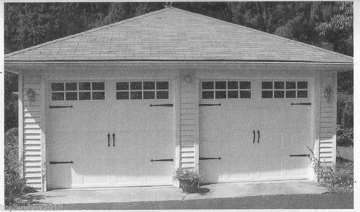Magnetic Decorative Carriage House Garage Door Hardware