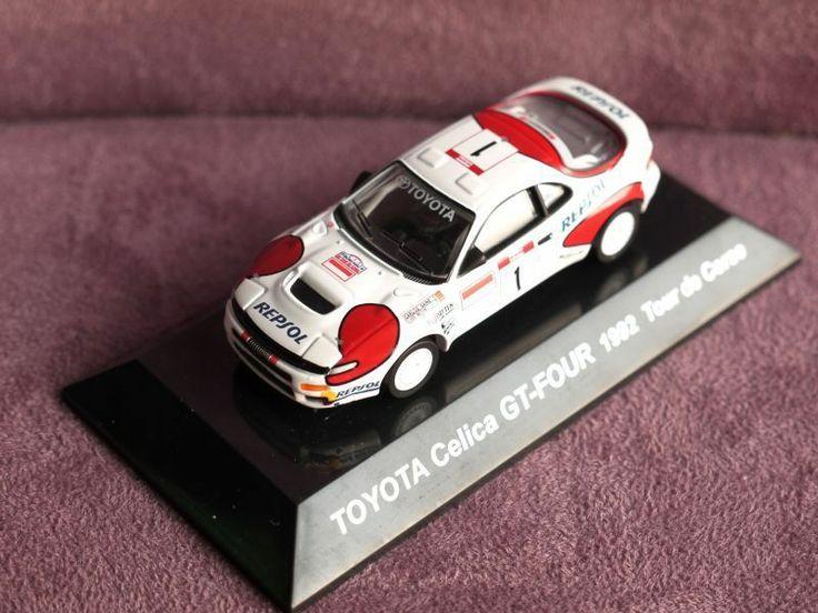 1/64 CMs RALLY CAR TOYOTA CELICA GT FOUR 1992 Tour De Corse
