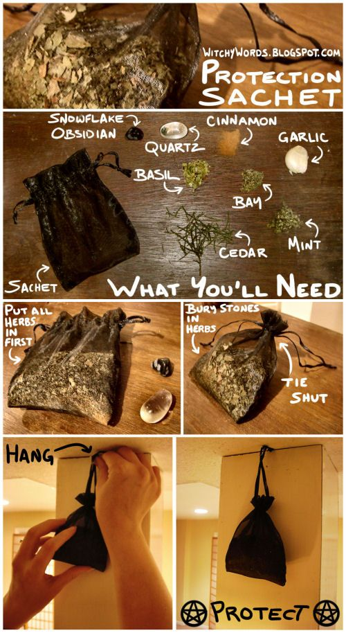 How to Protection Sachet. You should also charge the sachet, holding it between yourhands and charging it with your intent and purpose.
