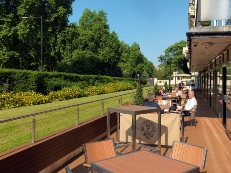 A view of the Deck at the Royal Thames Yacht Club.