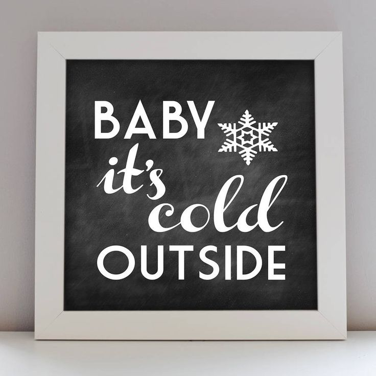 Winter Print – Little Pieces
