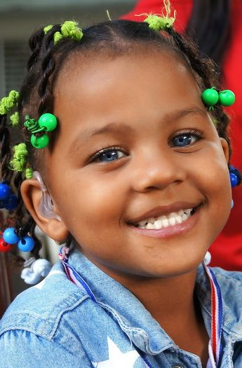 A beautiful little girl from the Dominican Republic getting the gift of hearing!
