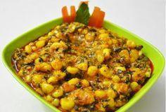 My Jain kitchen recipes ( No Onion No gralic ): Corn Methi Masala Recipe