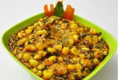 My Jain kitchen recipes ( No Onion No gralic ): Corn Methi Masala Recipe