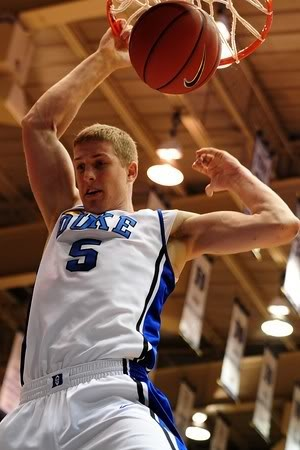 Mason Plumlee!!!  I'm a HUGE Duke fan and he is an Amazing basketball player ♥