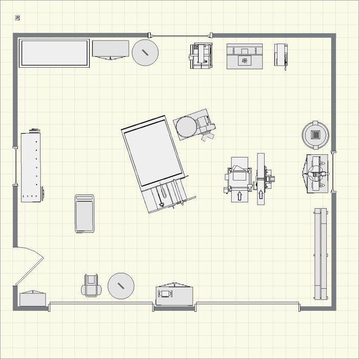 Asa S 2 Car Garage Shop Finewoodworking Garage Finewoodworking Floor Planner Dream Plan Using Layout Plans Woodshop Workshop Wood Asa Creating Tool Garage