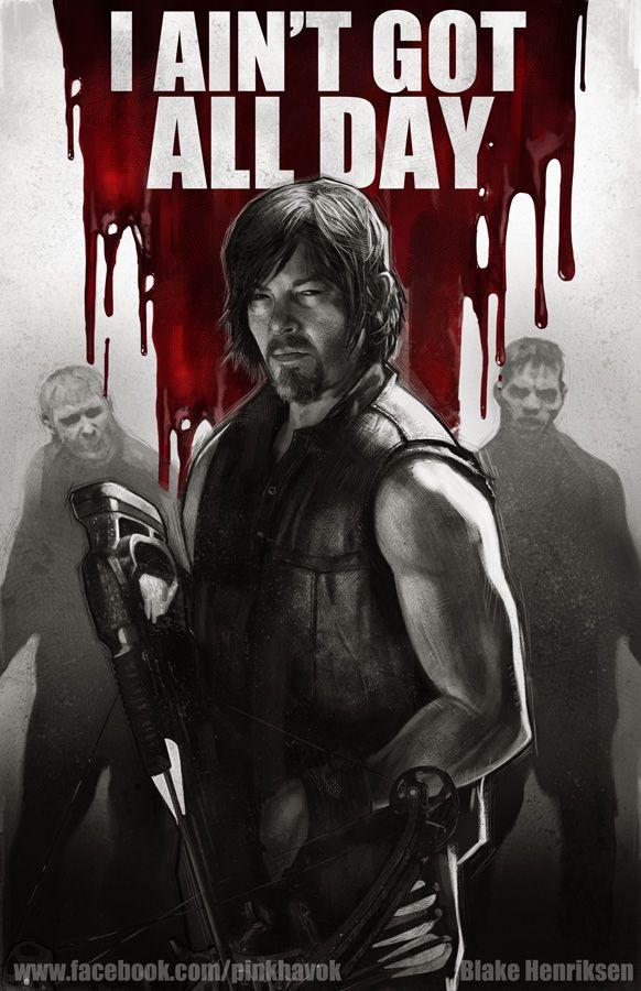 Daryl Dixon - The Walking Dead - Blake Henriksen