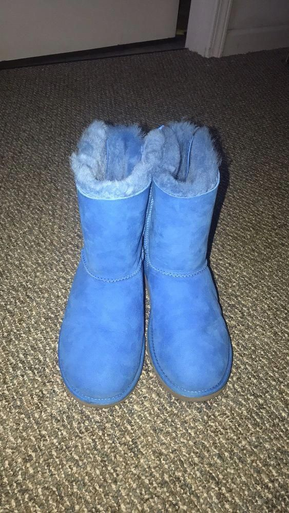 54cdaaa3856 UGG Australia Bailey Bow Royal Blue Boots Women's Size 6 #fashion ...