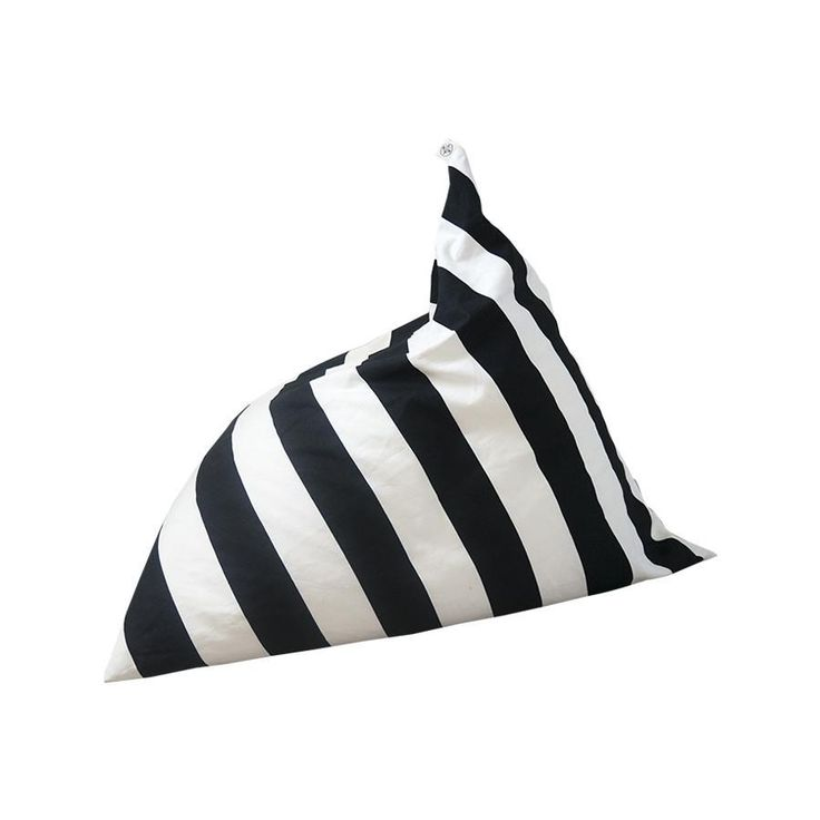 This ace Wildfire Teepees black-and-white striped pyramid bean bag is the perfect seat shape for little ones. An excellent addition to...