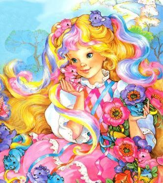 Lady Lovely Locks, 80's doll.  I so had this doll! ( VIP Fashion Australia www.vipfashionaustralia.com - international clothes shop )