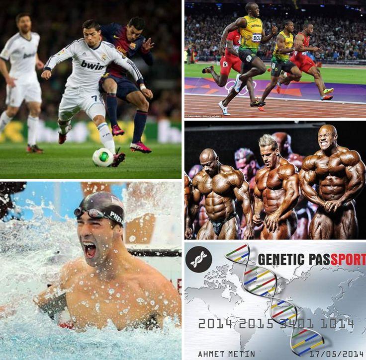 Genetic Passport®' dünya sporunun yönünü belirliyor! Profesyonel sporcuları dahi limitlerinin üzerine çıkaracak ''Genetictrainer Pro®'' gen paneli dünya sporunun hizmetinde!