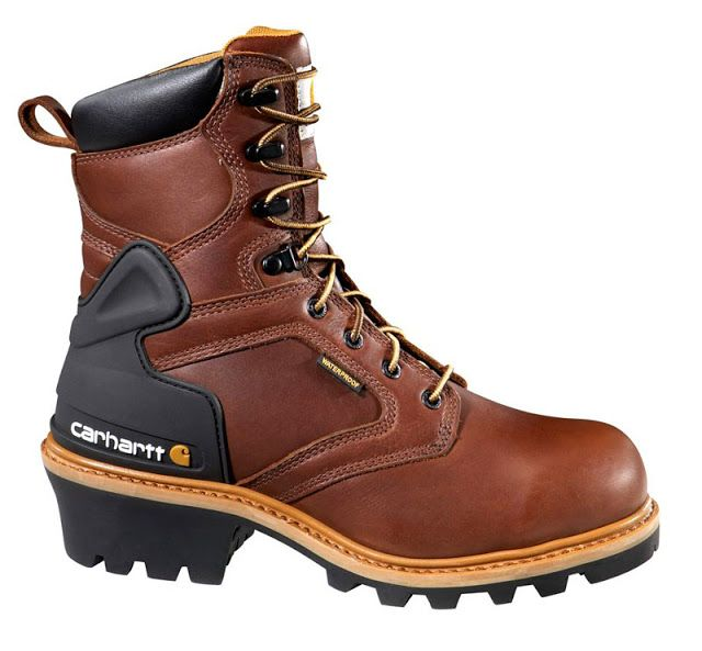 Carhartt 8-inch Logger Boots