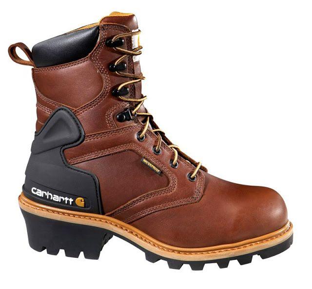 Carhartt 8-inch Logger Boots