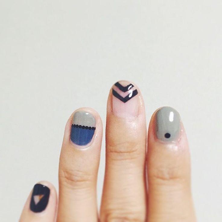 chevron nail