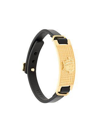 Versace Medusa plaque bracelet
