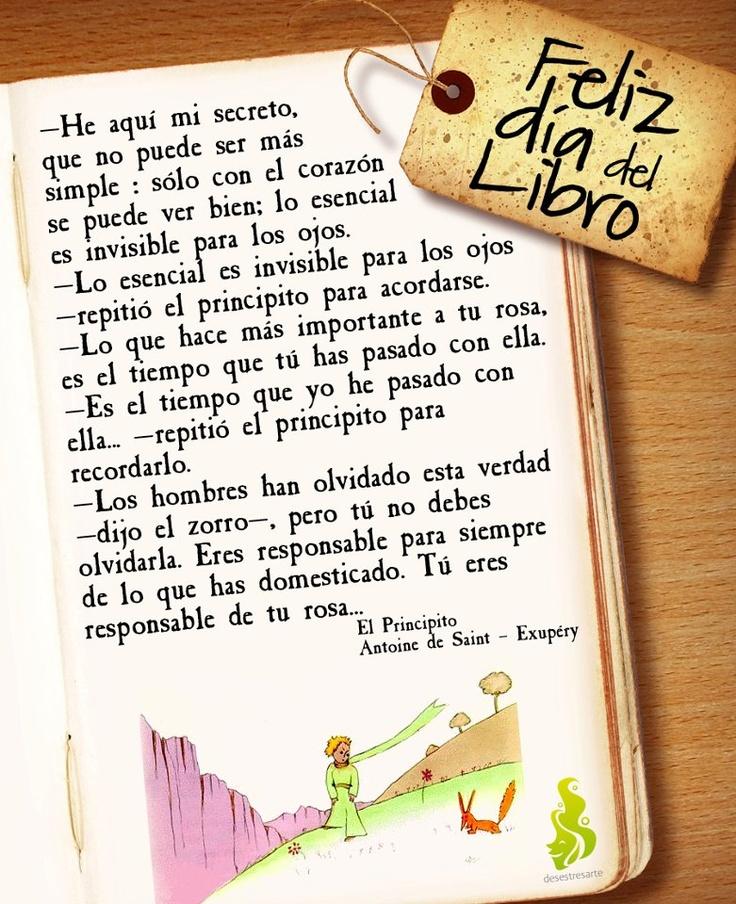 El Principito del escritor y aviador francés Antoine de Saint-Exupéry (1900–1944), es una hermosa novela.