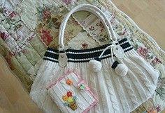 [DIY usando o saco de roupas velhas das mulheres】  usando o velho ...