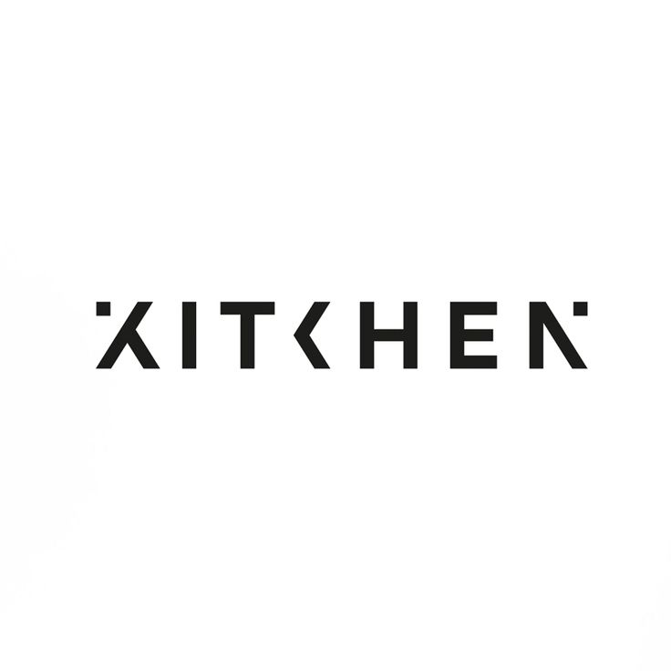 Identity for animation studio The Kitchen | typography / graphic design:  Sawdust |