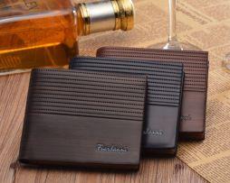 Luxusná pánska kožená peňaženka v štýlovom dizajne5