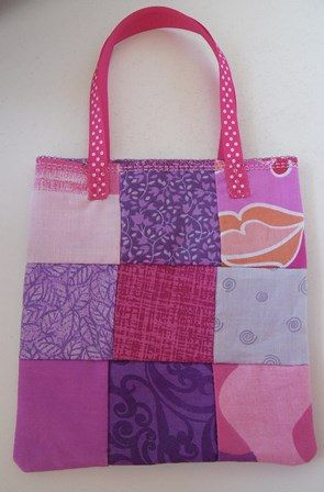 Tiny Tote Pink