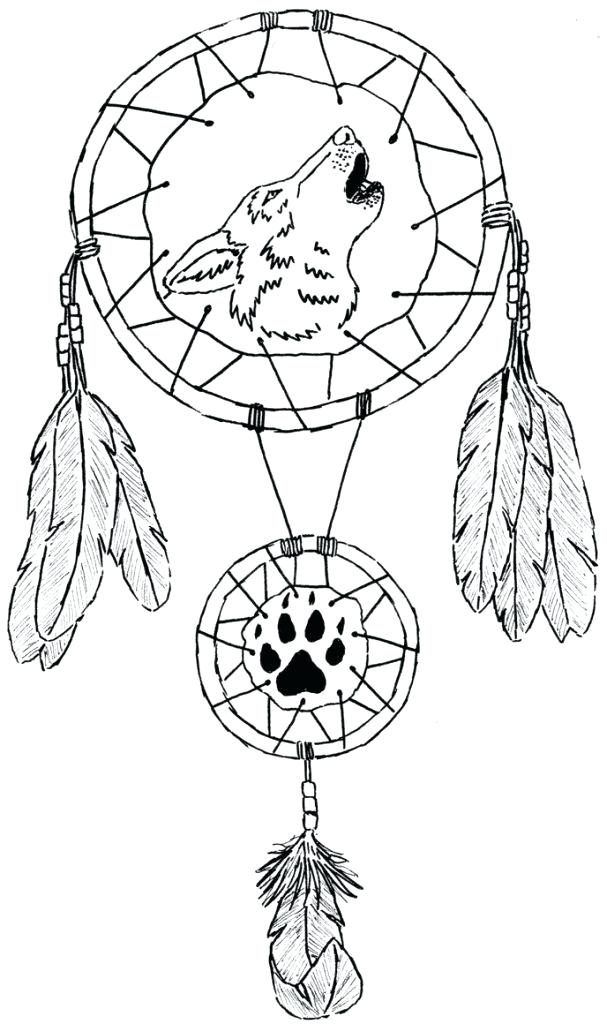 It's just a picture of Striking Printable Adult Coloring Pages Dream Catchers