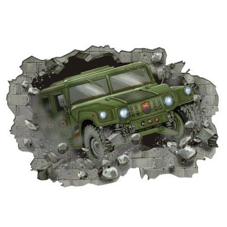 Amazon.com: CAMO camouflage WALL PAPER APPLIQUES bedroom decor army: Home & Kitchen