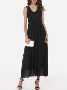 Fashionmia long black dress - Fashionmia.com