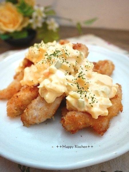 鶏むね肉のスティックフライ*チキン南蛮風 by たっきーママ   レシピ ...