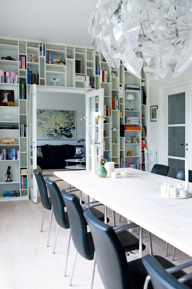 Libreria Random, di Mdf Italia: ci piace perché è leggera, giovane e stilosissima!