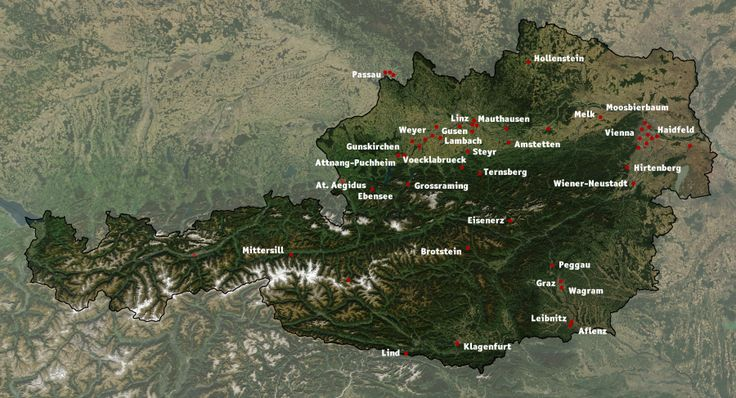Austria Mauthausen sub-camps - Campo di concentramento di Mauthausen - Wikipedia