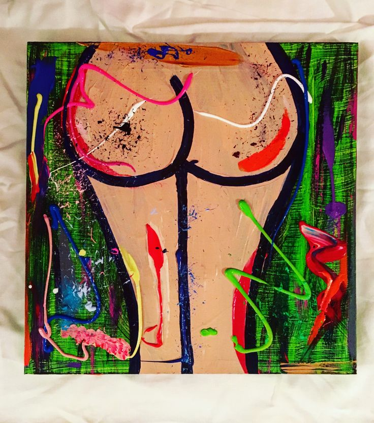 JUNGLE FEVER, 50 x 50, acrylic paint on canvas, framed