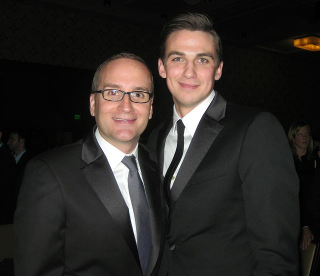 Chad Griffin and Jerome Fallon - DC's newst gay power couple - Read more: http://lgbtpov.frontiersla.com/2012/03/18/therons-a-hoot-matthews-praises-solmonese-and-griffins-a-hit-at-hrc-gala-in-la/