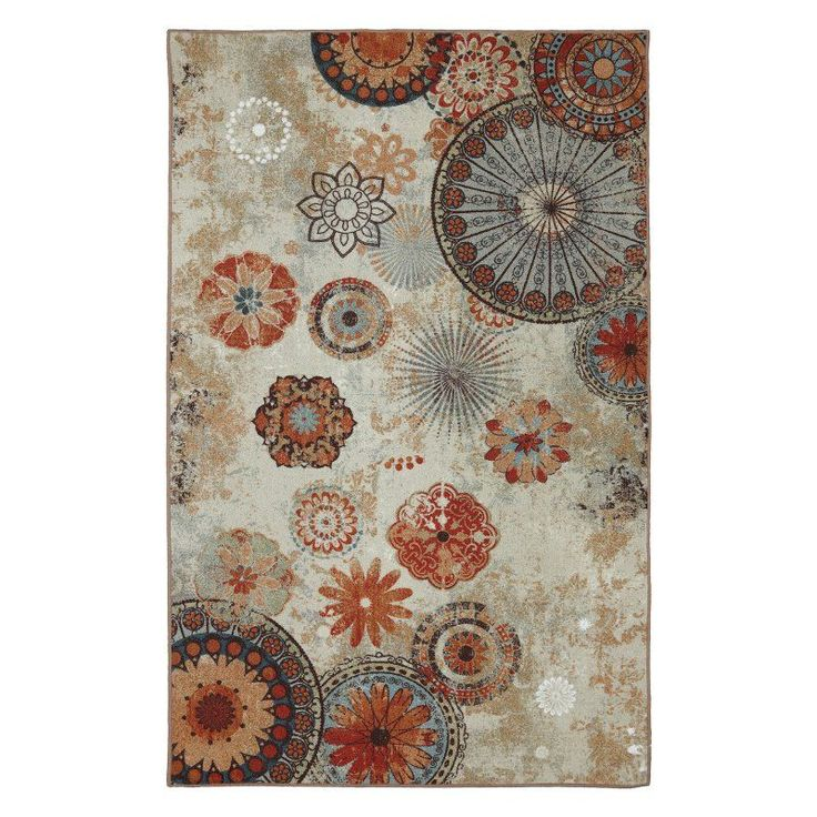 Mohawk Home Alexa Medallion Indoor/Outdoor Rug - 11738 416 M60096