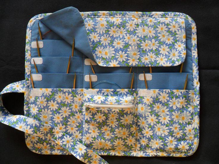 10 Best Tutorial Knitting Needle Bag Images On Pinterest Knitting