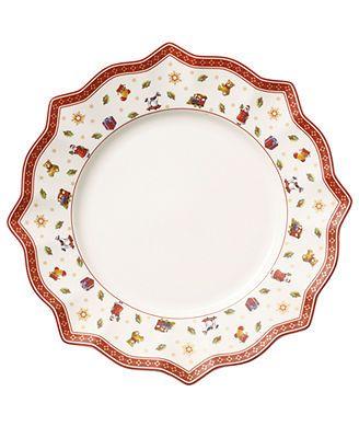 Villeroy u0026 Boch Dinnerware Toyu0027s Delight White Dinner Plate  sc 1 st  Pinterest & 244 best Christmas China/dishes images on Pinterest | Christmas ...