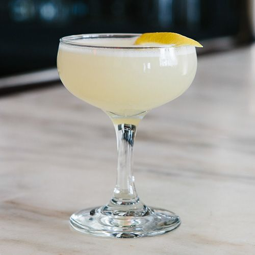 Necromancer: With ingredients like elderflower liqueur, Lillet Blanc and lemon juice, it's unclear how this light and floral drink got such a dark name. If you ask us, the addition of absinthe certainly had an influence.