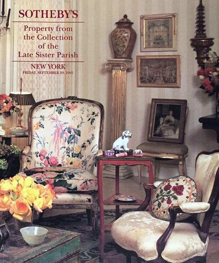 A Memorable Sale Of Beautiful Objects And Furniture. #parishhadleydesign  #parishhadleytreeoflife @bunnys_eye @ · Albert Hadley