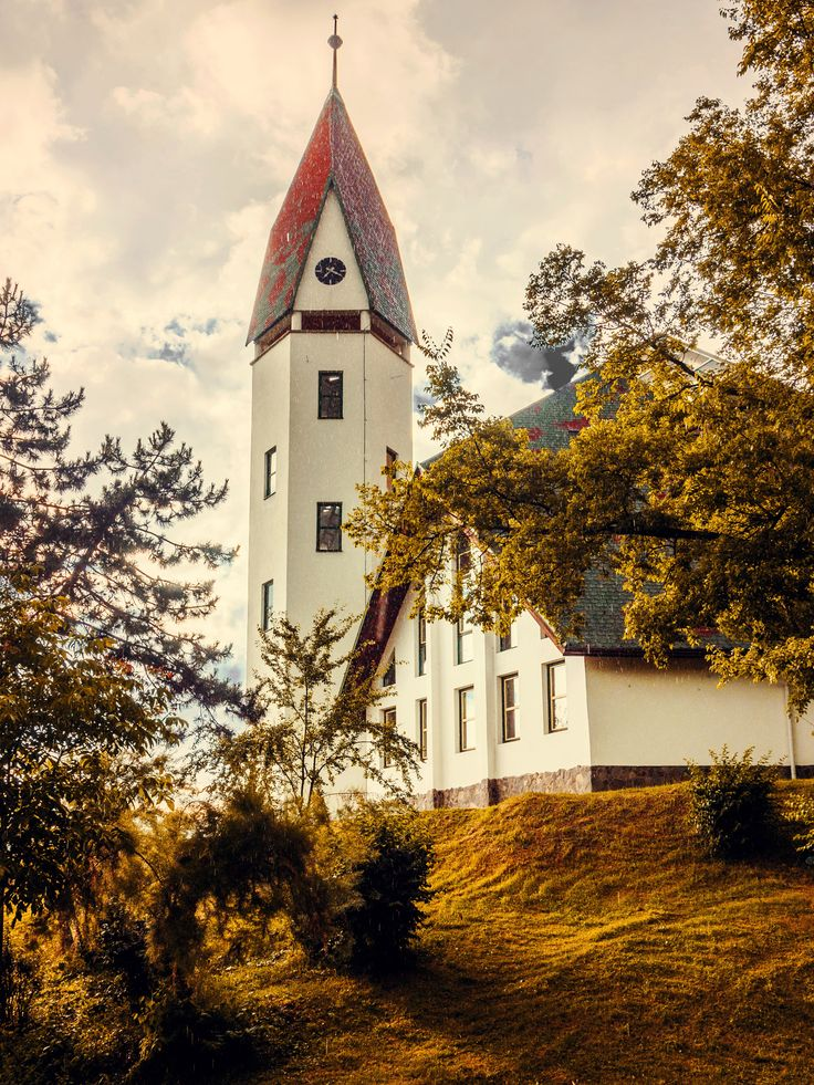 New church , vintage shot by Hurghis Vasile on 500px